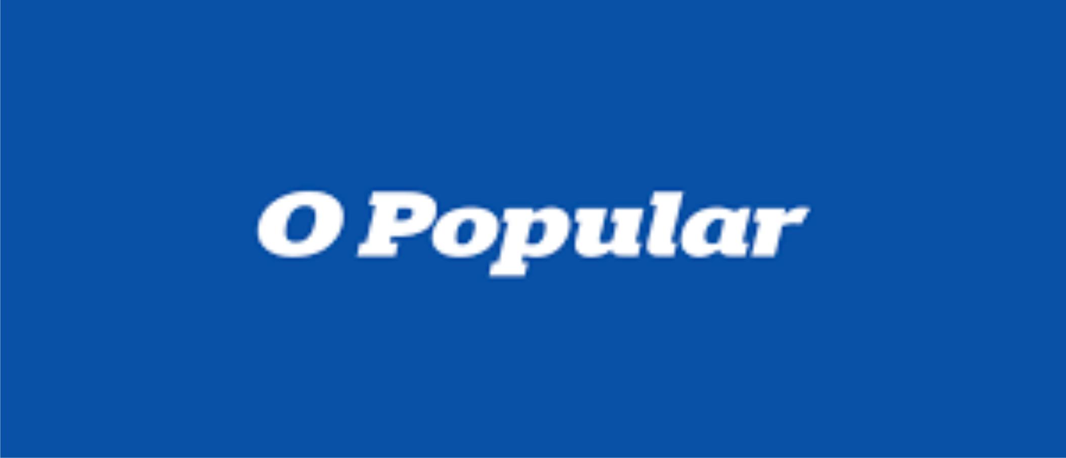 """Filipe Denki. Jornal """"O Popular"""". Recuperação e falência aumentam."""